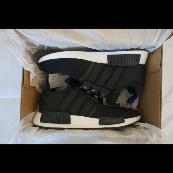 check out 1fa7c fcff1 Adidas Shoes   Nmd R1 Blue Tab   Poshmark