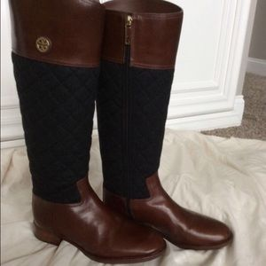 brown tory burch riding boots on Poshmark