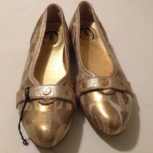 Just Cavalli Shoes - NWT  just Cavalli AUTHENTIC BALLERINA SHOES