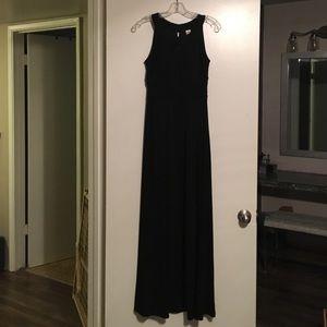 saleBlack evening gown
