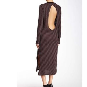 NYTT Dresses & Skirts - LAST NIGHT midi with open back detail 😊