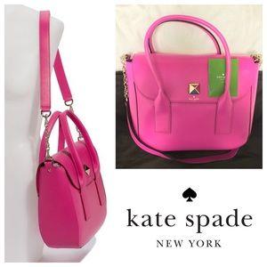Kate Spade 'New Bond Street Florence' Pink Satchel