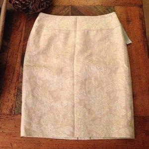 Classiques entier  Dresses & Skirts - New Nordstroms Designer White Floral Skirt