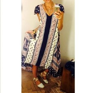 Anthropologie Summertide Swing Dress By Maeve