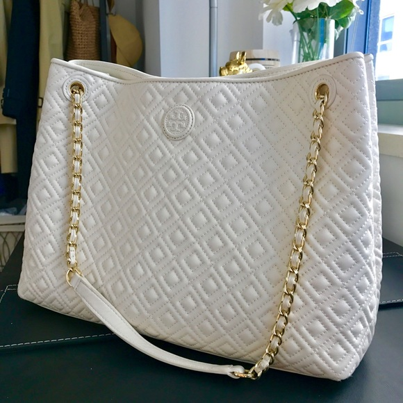 Tory Burch Bags Marion Quilted Tote Poshmark