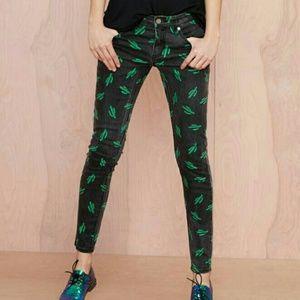 American Retro Tina Jeans - Cactus