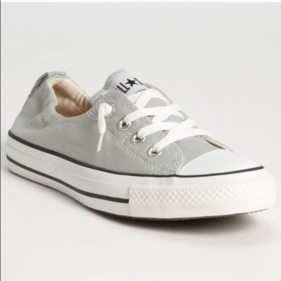 Converse Shoes - Converse All Star Shoreline Slip Ons in Cloud Gray 5f4b03792