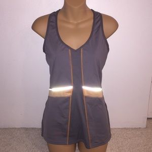Lucy Tops - Lucy tank top w/reflective material