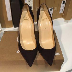 f1226ad8e7a5 Christian Louboutin Shoes - 24 HR SALE Louboutin Pigalle Follies 100 size  39.5