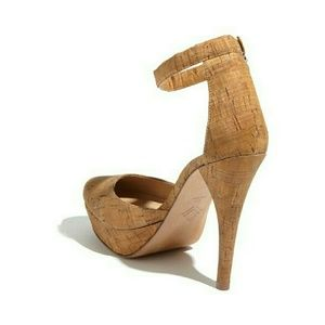 88ab78c6436 SALE HP - 7 for All Mankind Ankle Strap Cork heels