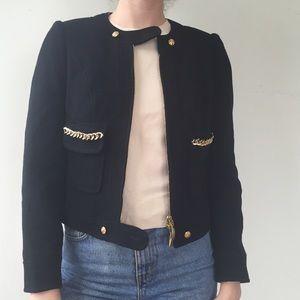 Carmen Malero Gold Chain Made in Spain Jacket