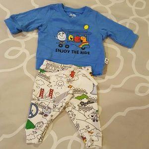 Baby Gap Mr Men Little Miss outfit