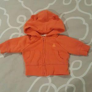 Orange Baby Gap Hoodie