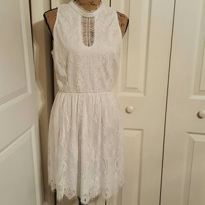 Lily Rose Dresses & Skirts - Beautiful White Lily Rose Dress NWOT