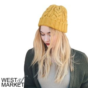West Market SF Accessories - -NEW ARRIVAL-🎉 Canary Knit Beanie