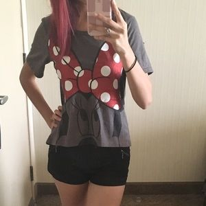 Authentic Disney Mickey Mouse Top Size XS