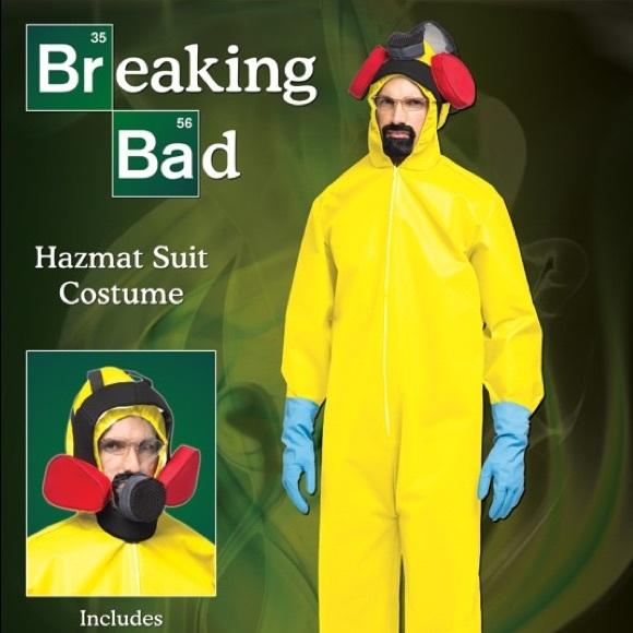 Breaking Bad Hazmat suit Halloween Costume  sc 1 st  Poshmark & rasta imposta Other | Breaking Bad Hazmat Suit Halloween Costume ...