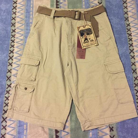 7bf577a33e IRON CO. Shorts | Mens Iron Co Cargo Short | Poshmark