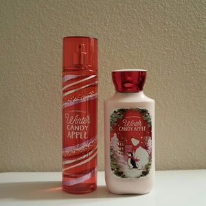Other - Bath and Body Works - Winter Candy Apple Set
