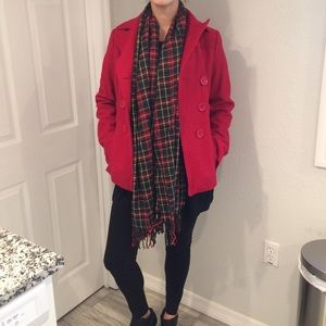 Red Coat ❤️ GUESS
