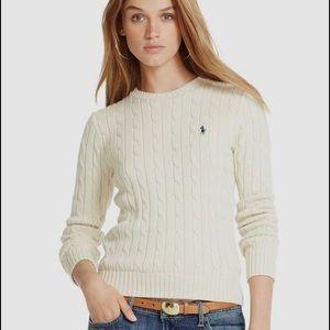 Ralph Lauren Women's Cable-Knit Sweater