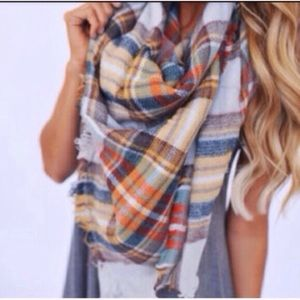 ❣️LAST❣️ Plaid Tartan Oversized Blanket Scarf Chic