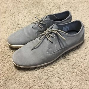 River Island Other - SALE! 🎉HP!🎉 Grey Suede River Island Sneakers 8.5