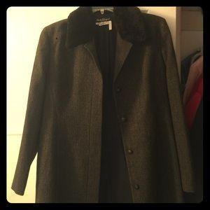 Vintage Salvatore Ferragamo coat.