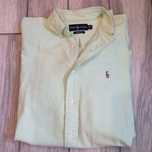 Men's Light Green Dress Shirt