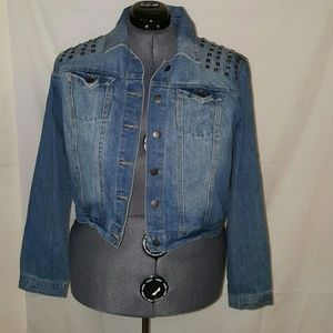Highway Jeans Jackets & Blazers - HIGHWAY JEANS BLUE LONG SLEEVE JEAN JACKET