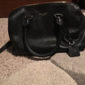 Henri Bendel Black Satchel
