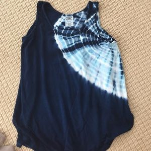Erge Other - Cute tie dye tank with side openings girls L