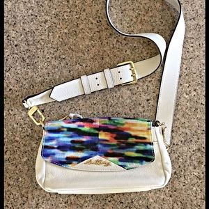 Aimee Kestenberg Handbags - Aimee Kestenberg watercolor cross body bag NWOT