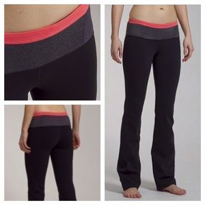 Lululemon Pure Strength Pant In Black Coal Flush