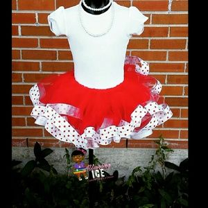 Dresses & Skirts - Ribbon trim tutu sets