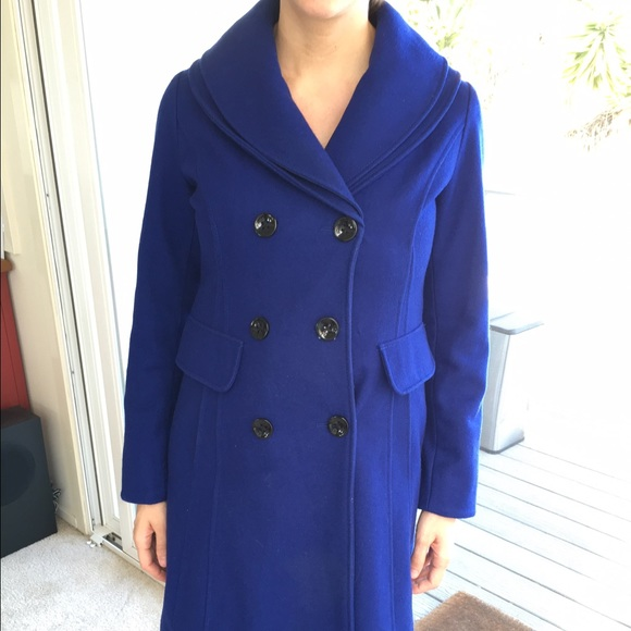 Guess - Royal Blue pea coat by Guess from Stephanie's closet on ...