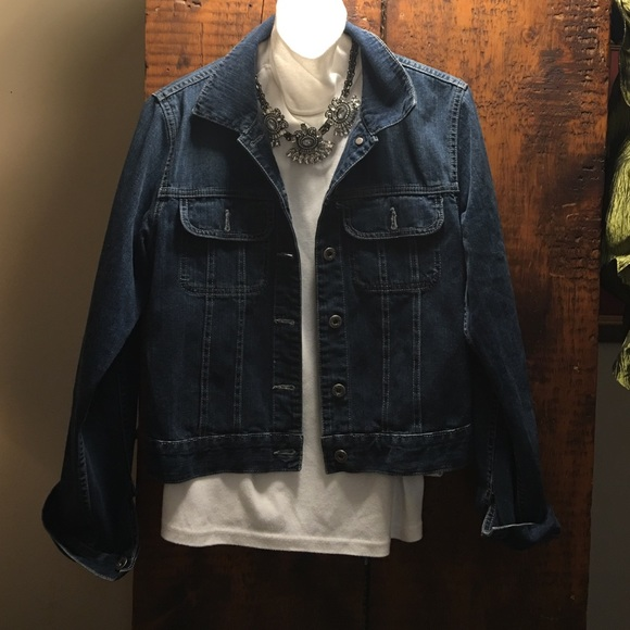 89% off Silver Jeans Jackets & Blazers - Denim Jacket from Kathy's ...