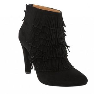 Banana Republic Shoes - Magnificent black Suede booties Darcey