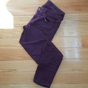 Siwy Denim - Siwy Purple Hannah Skinny Jeans