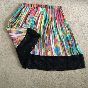 Prabal Gurung Dresses & Skirts - Rainbow skater skirt