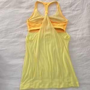 lululemon athletica Tops - Lululemon yellow practice freely tank