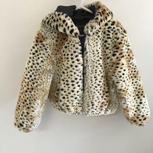 Fabulous Furs Other - Donna Salyers' faux cheetah fur coat