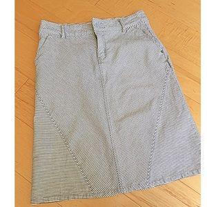 Anthropologie Pilcro skirt stripes