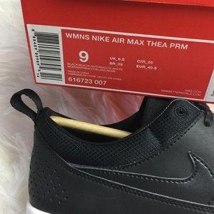 Nike Air Max Thea Pelle Nera Premium EclOr