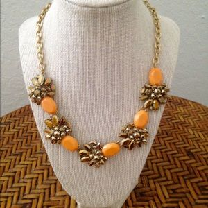 J. Crew Jewelry - NWT J.Crew Bronze Gold Cluster Necklace