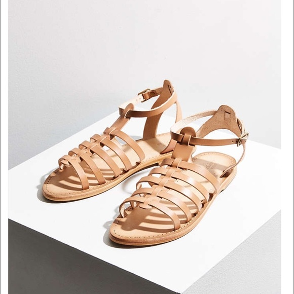45 Off Urban Outfitters Shoes Leather Gladiator Sandals