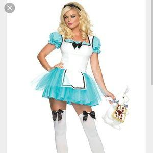 Enchanted Alice costume.