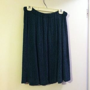 Panache Dresses & Skirts - Panache teal and black knit skirt