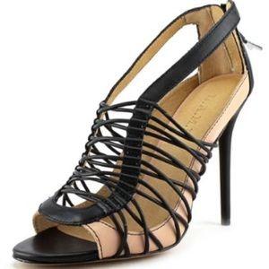 NEW L.A.M.B. Open toe heels