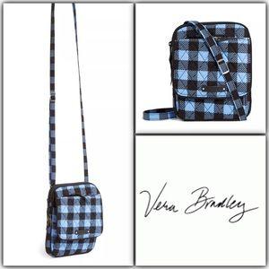 Vera Bradley Mini Hipster Alpine Check NWT